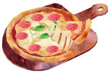 ピザ・パーラー付き・1カット・チーズ