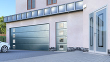 Garage Entrance With Sectional...