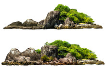 The Trees On The Island And Ro...