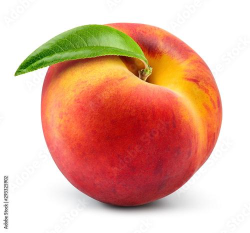 Peach isolate Fototapeta