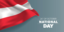 Austria Happy National Day Gre...