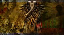 Dark Art Composition. Angels W...