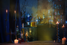 Magic Porion In Beautiful Glas...