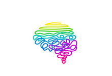 Tangled Rainbow Colored Wire I...