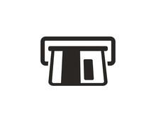 ATM Icon Symbol Vector