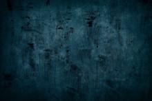 Dark Blue Grungy Background Or Texture