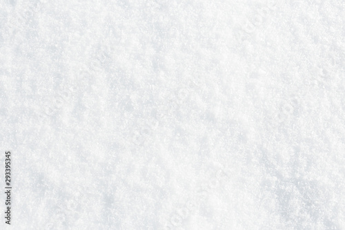 Obraz Natural snow texture background, closeup top view - fototapety do salonu