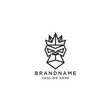 King Kong Logo Icon Design Tem...