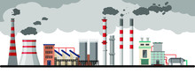 Industry Factory Vector Indust...