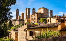 Old Town Of San Gimignano