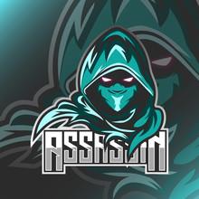 Assassin Logo Mascot Vector Il...