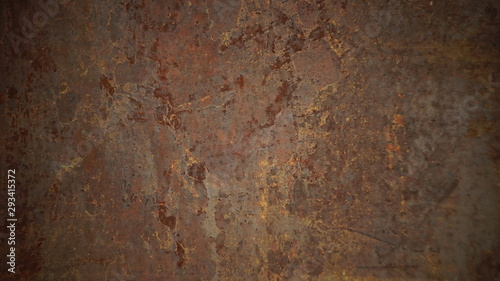 Fototapety, obrazy: texture of rusty metal background