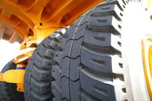 Huge Rear Wheels Of Dump Truck...