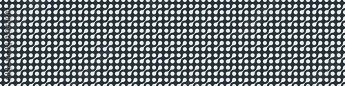 Fotomural  Truchet Motif Pattern Generative Tile Art background illustration