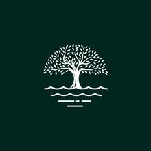 Tree Logo Design Vector Templa...