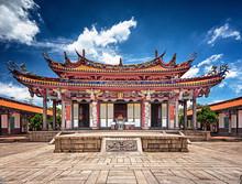 Taipei Confucius Temple In Dalongdong Taipei, Taiwan
