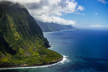 Giant Cliffs Of Molokai