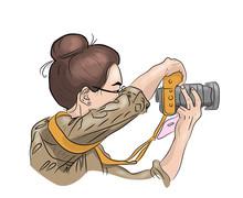 Woman Photographer, Photograph...