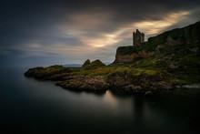 Gylen Castle Cliffs