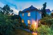 Garten, Wohnhaus, Einfamilienhaus, Deutschland