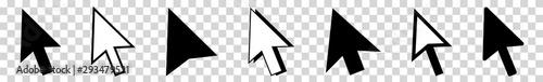 Fotografía  Cursor   Mouse Arrow Icon   Computer Mouse Pointer   Isolated Transparent   Clic