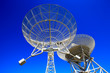 canvas print picture - The observatory radio telescope