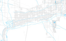 Rich Detailed Vector Map Of Bu...