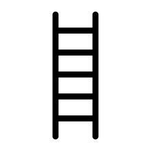 Ladder For Climbing Flat Vector Icon For Apps And Websites