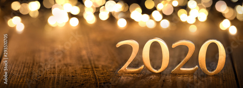 Fototapeta Happy New Year 2020 obraz