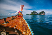 Traditional Longtail Boat And ...