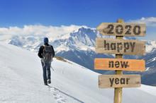2020 Happy New Year Wrtten On ...