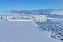 Glacier Ice Shelf Ross Sea Ant...