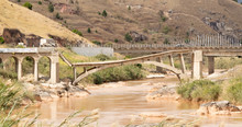 Collapsed Bridge On Madagascar