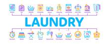 Laundry Service Minimal Infogr...