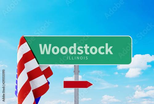 Woodstock – Illinois Fototapeta