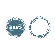 Bottle Caps Ready Made Design Template