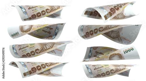 Fotografia, Obraz Thailand Currency 1000 Baht