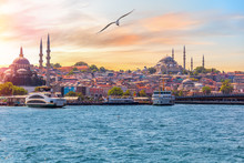 The Suleymaniye Mosque And The...