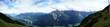 Bergpanorama in den Stubaier Alpen in Tirol, Oesterreich