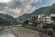 Remote Village Of Wulai In South Of Taipei, Taiwan