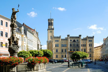 Town Hall Of Zittau - Germany.