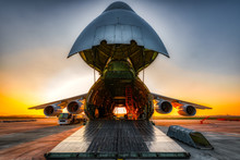 Antonov An-124 On The Ground W...