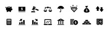 Business, Finance, And Money Icon Set (vector Icons)
