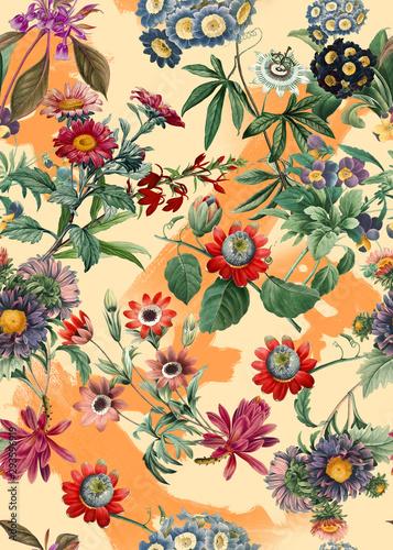 kolorowy-cieply-wzor-kwiatowy