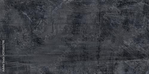 Fotografie, Obraz  Dark Grey cement background. Wall texture