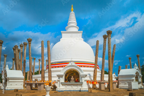 Thuparamaya, first Buddhist temple in Sri Lanka Fototapeta