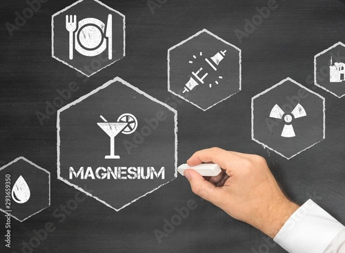 Obraz na plátně Magnesium