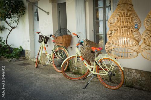Garden Poster Bicycle Vélo à l'île de Ré