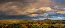 Autumn Landscape At Sunset - M...