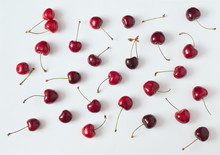 Composition With Red Cherries ...